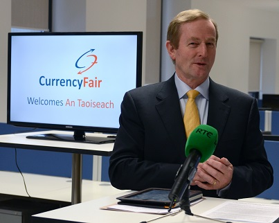 Taoiseach Jobs Announcement CurrencyFair