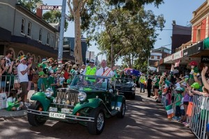 St Patricks Day Parade Perth