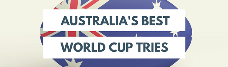 Best Rugby World Cup Tries - Australia