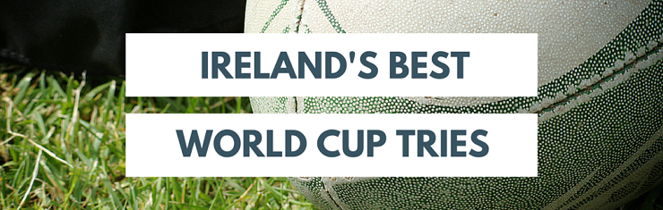Best Rugby World Cup Tries - Ireland