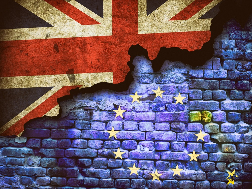 brexit wall