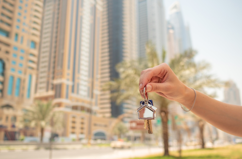 keys in hand building UAE